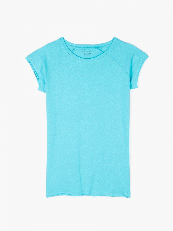 Základné bavlnené tričko s raglánovým rukávom