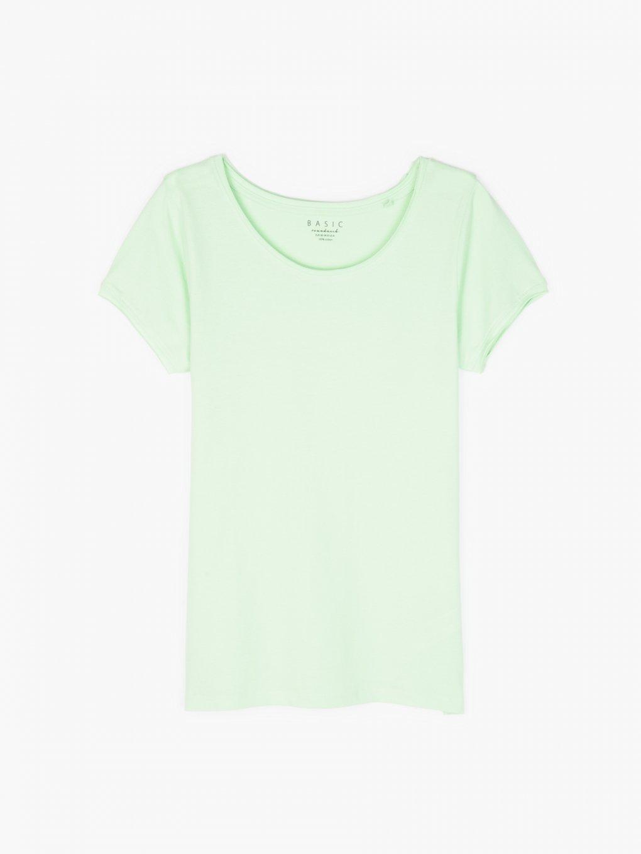 Základné tričko s neopracovaným lemem