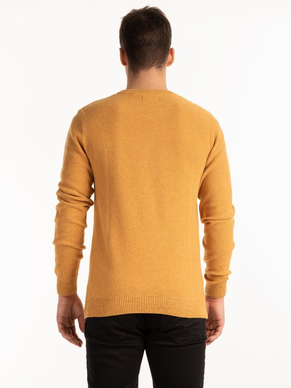 Structured pullover