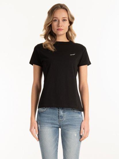 Bavlnené tričko s potlačou