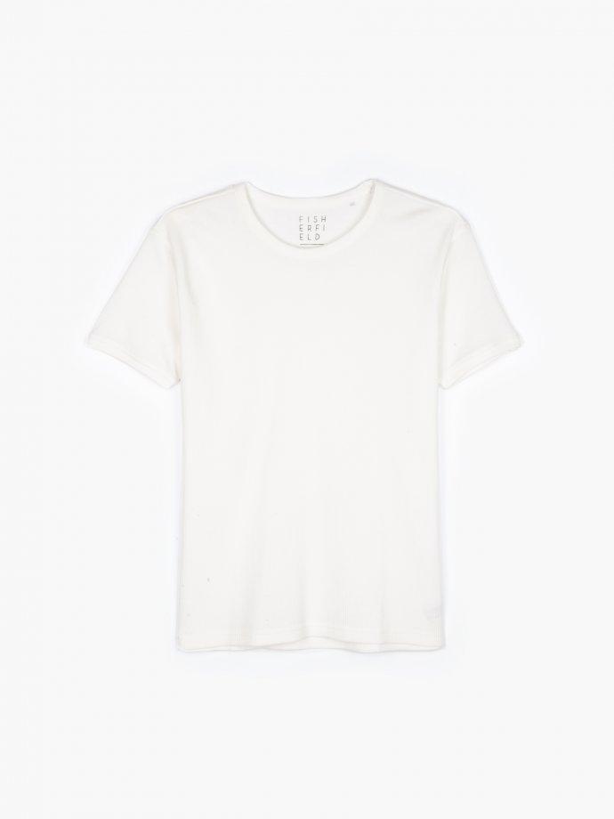Vafľové tričko