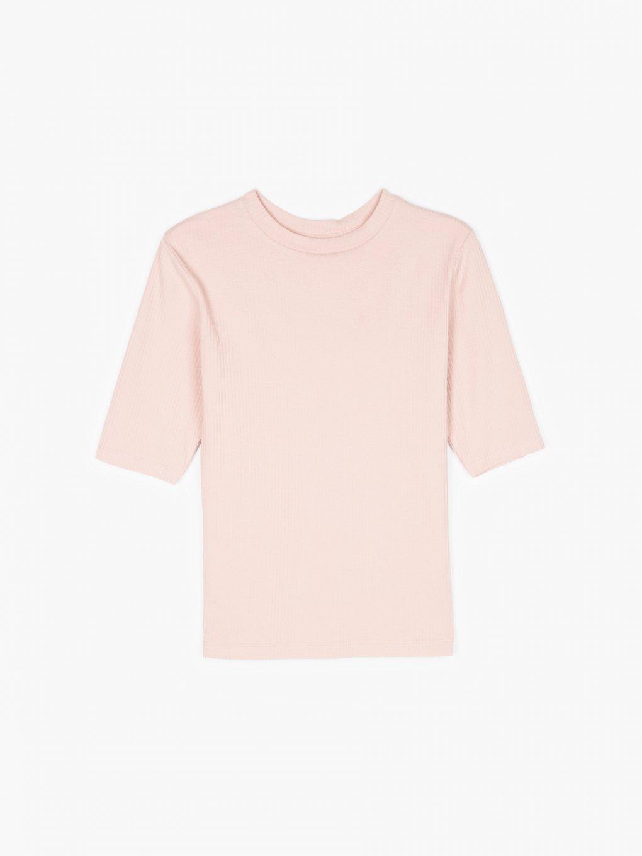Koszulka basic w prążki