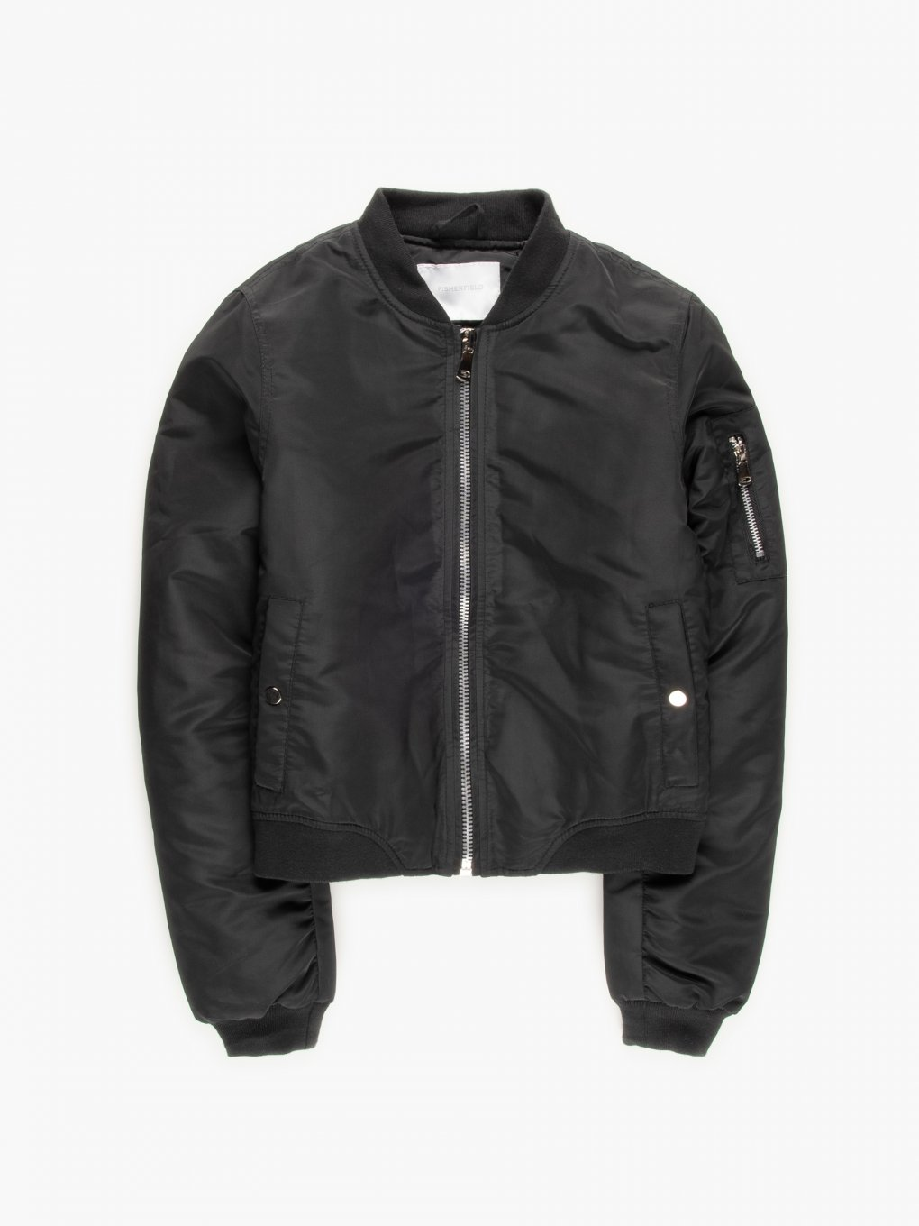 Padded bomber jacket