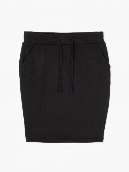 Základná mini sukňa