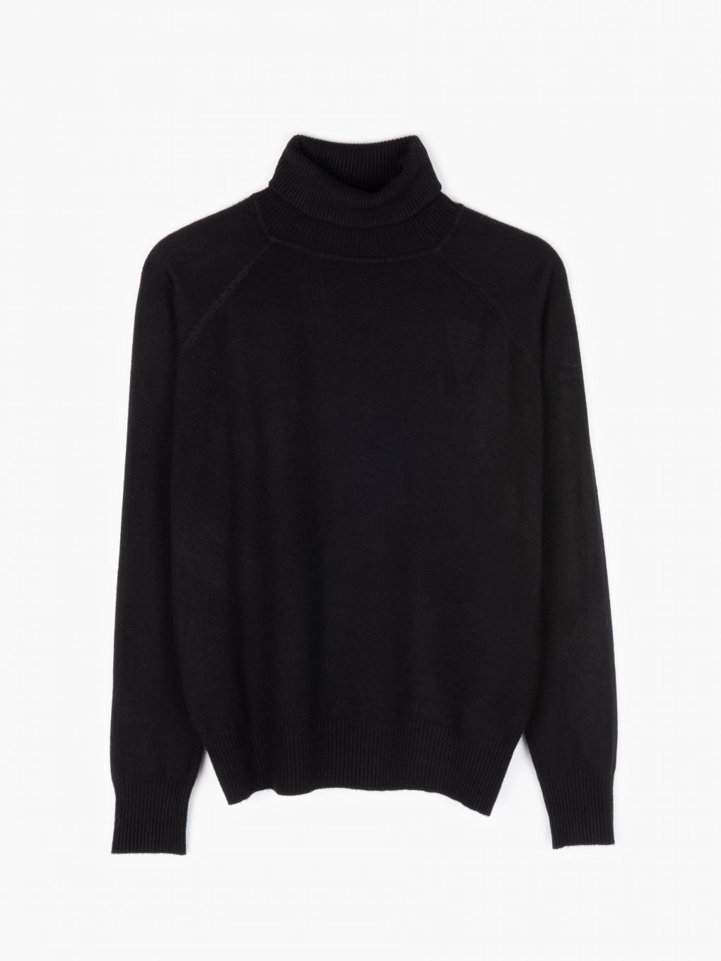 Basic roll neck jumper