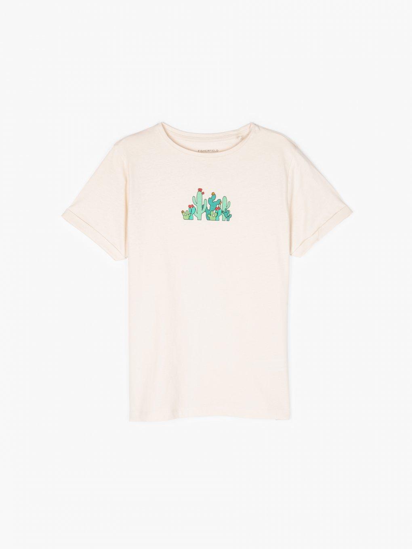 Tričko z organické bavlny s potiskem