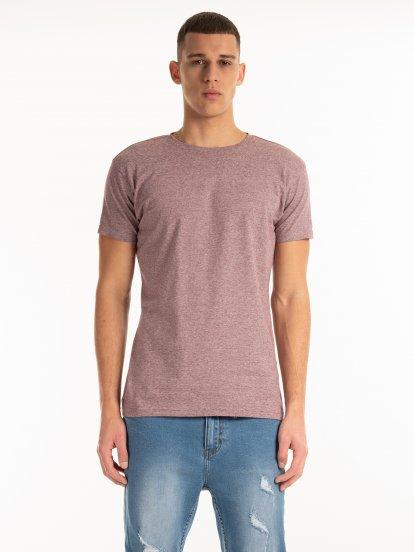 Pruhované strečové tričko
