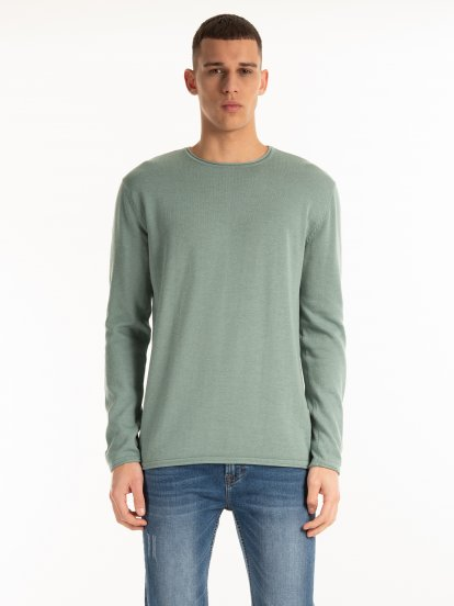 Basic cotton jumper