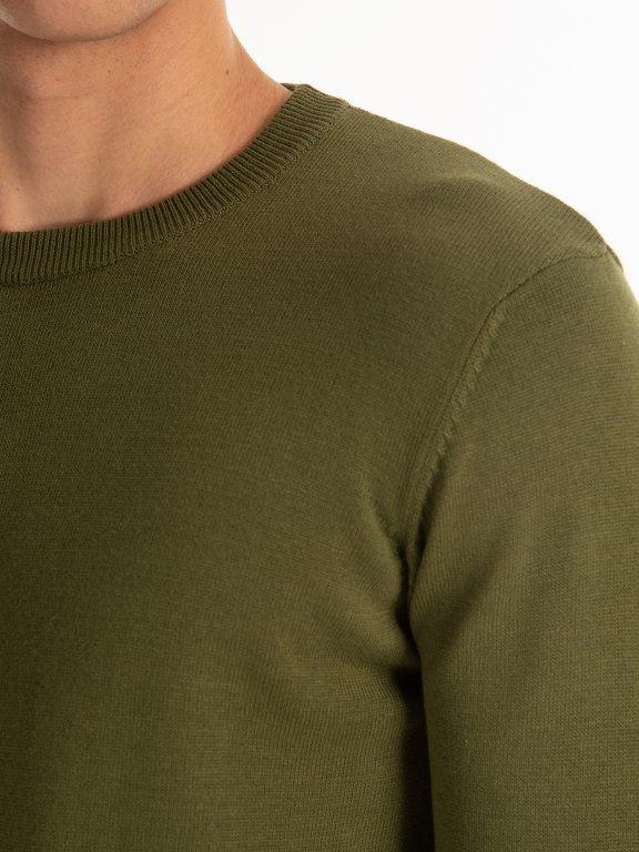 Basic cotton jumper