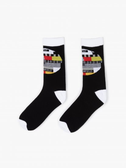 Ponožky so vzorom
