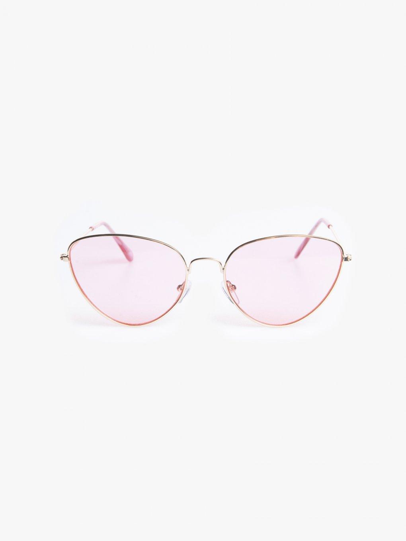 Sluneční brýle cat eye s barevnými skly