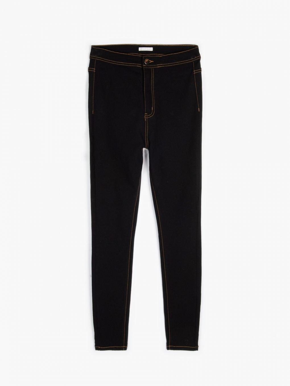 Spodnie skinny ze stretchem