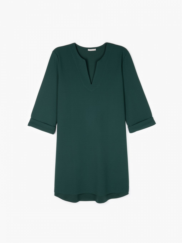 Jednobarevné šaty