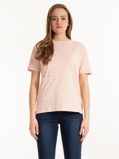 Organic cotton t-shirt with pocket