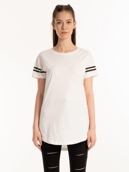 Bavlnené tričko s pásikmi