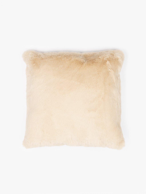 Vankúš z umelej kožušiny 45x45cm