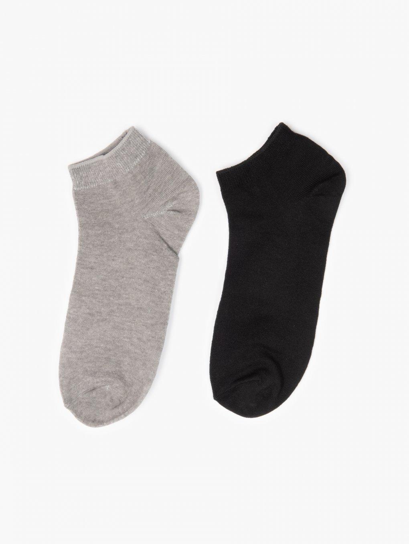 2-pack bamboo ankle socks