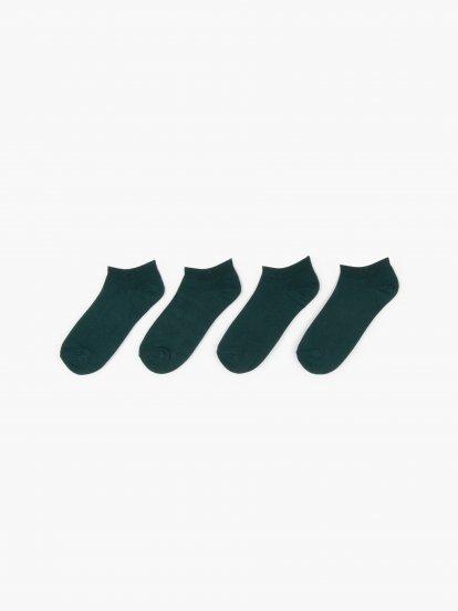 Sada dvoch párov ponožiek z bamusovej zmesi