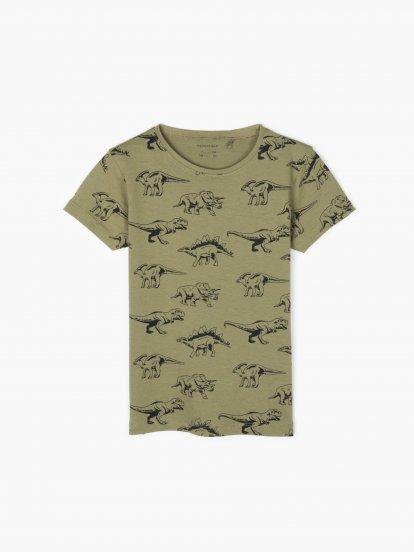 Bavlnené potlačené tričko