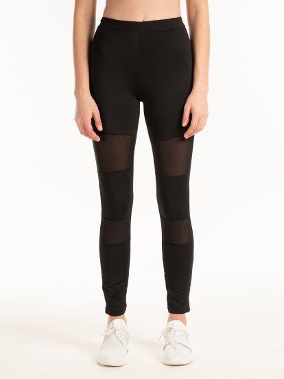 Combined leggings