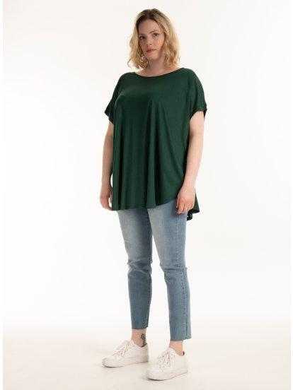T-shirt z wiskozy