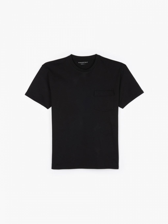 Volné tričko s náprsní kapsou
