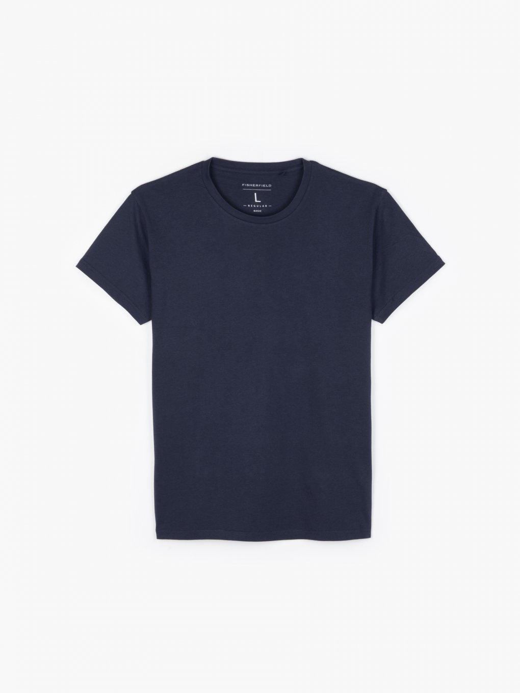 T-shirt basic o regularnym kroju