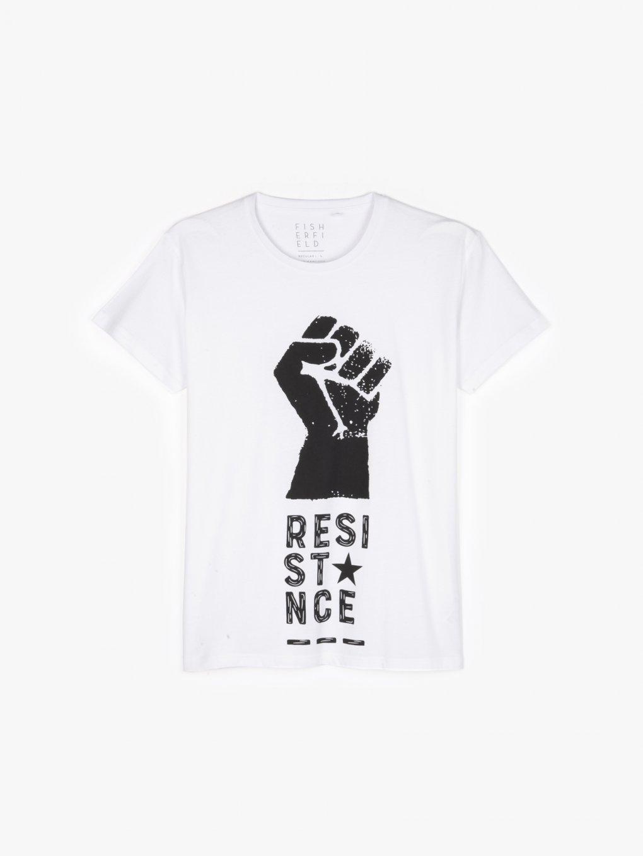 T-shirt z graficznym nadrukiem
