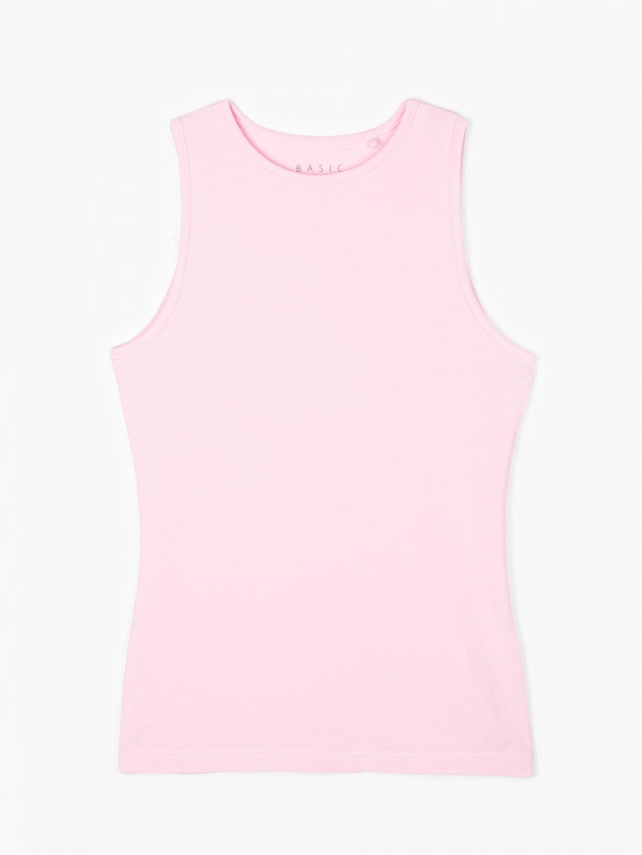 Basic stretch tank top