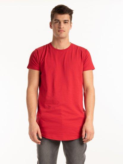 Strečové tričko slim fit