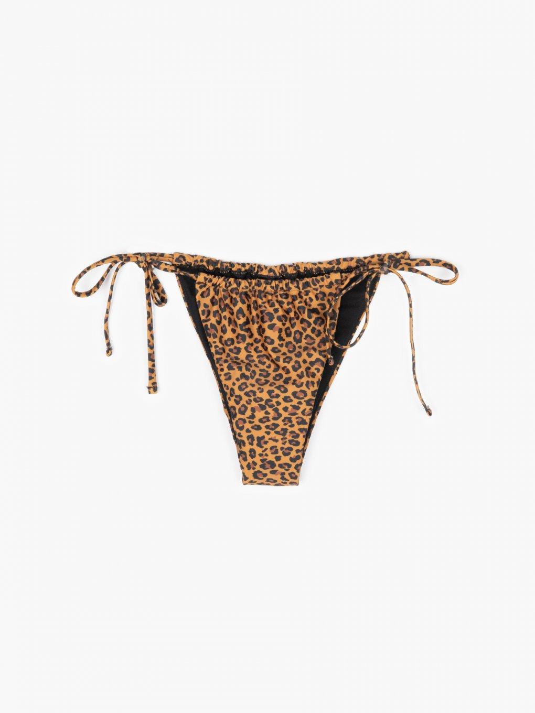 Dół od bikini w zwierzęcy wzór