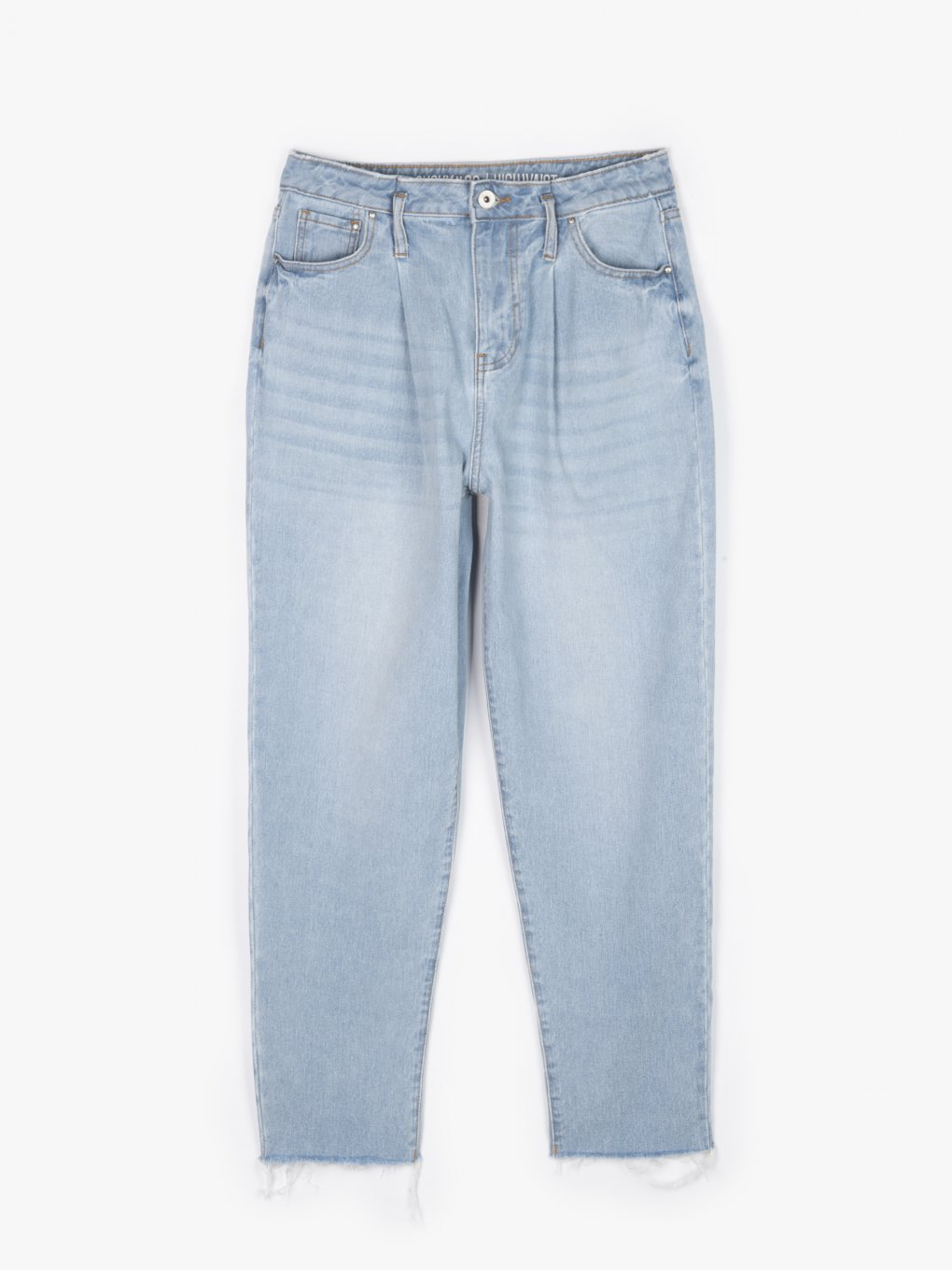 Cotton slouchy jeans