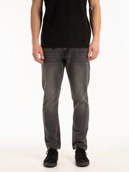 Straight slim fit jeans