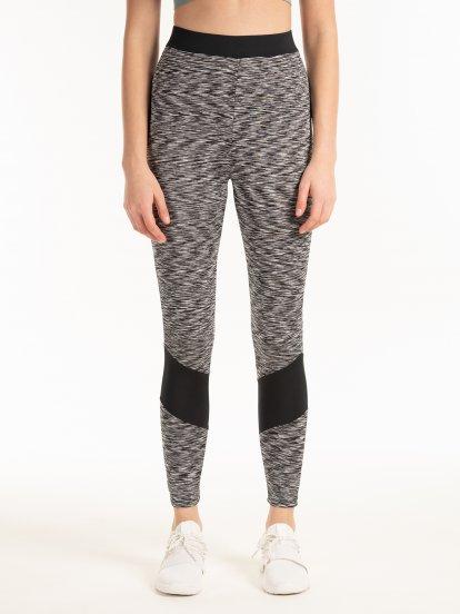 Marled leggings