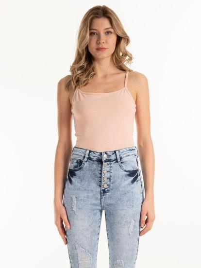 Basic strappy bodysuit