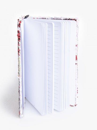 Reversible sequin diary