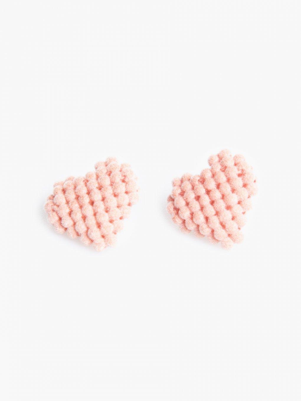 Kolczyki w kształcie serca