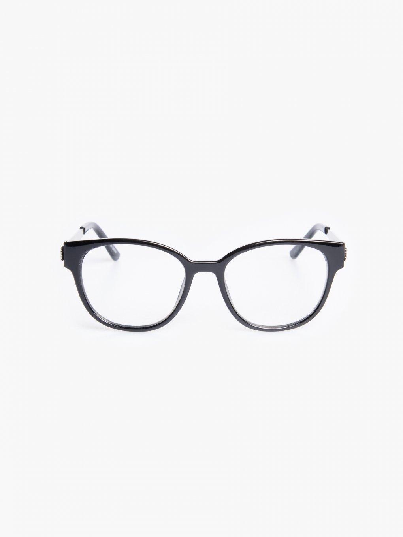 Okuliare s transparentnými sklami