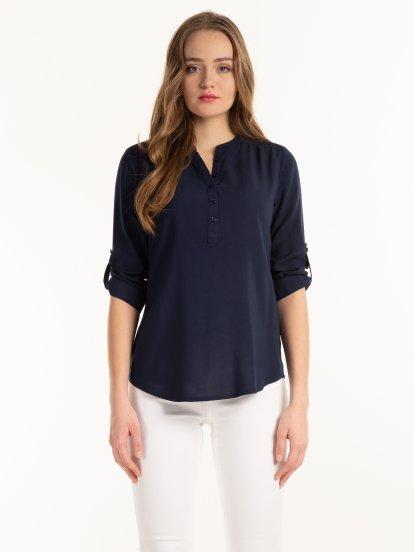 Basic viscose blouse
