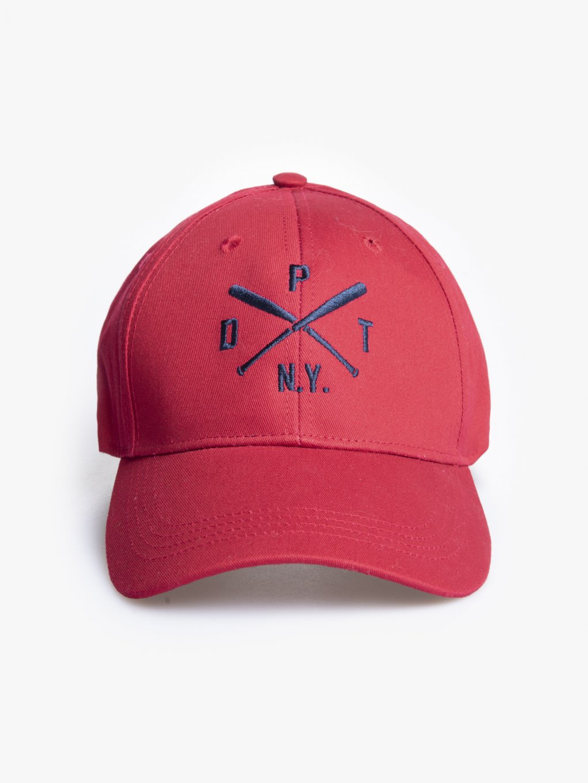 Baseball cap with embro