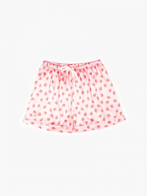 Pyžamové šortky s potlačou