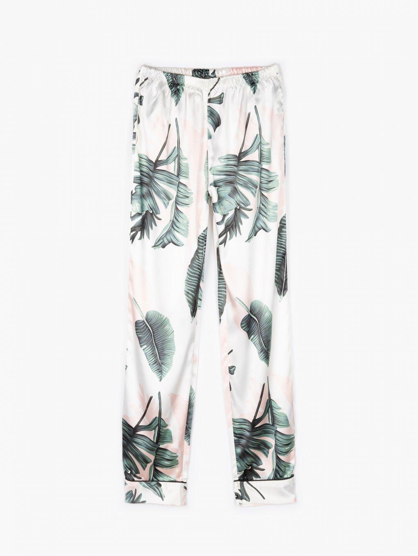 Satin pyjama bottoms