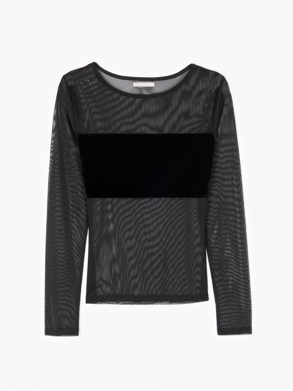 Combined top with mesh