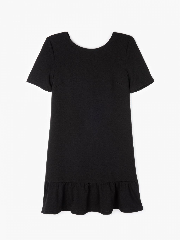 Mini šaty s volánom