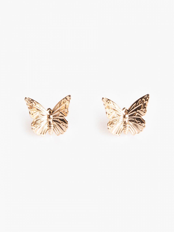 Náušnice v tvare motýľa