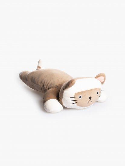 Vankúšik v tvare mačičky