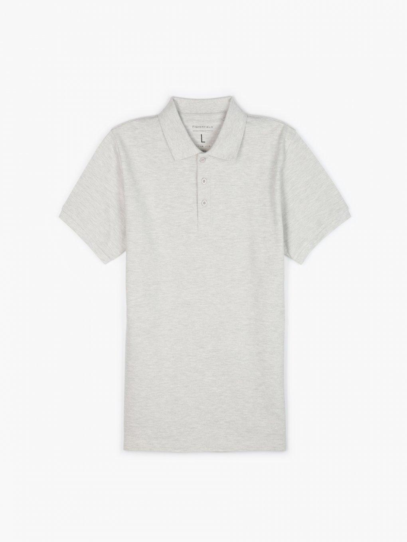 Basic pique polo shirt
