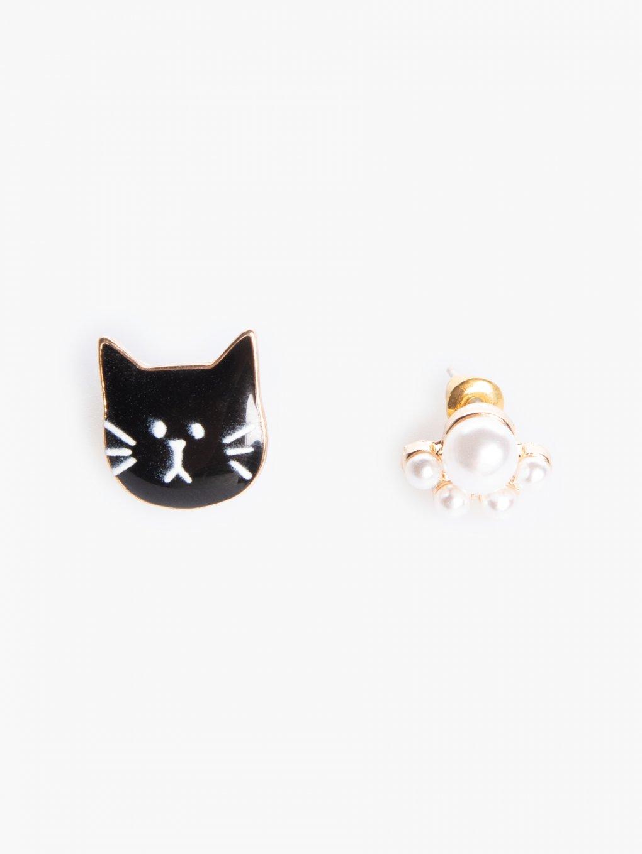 Earrings kitty