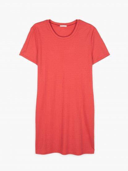 Podstawowa sukienka ze stretchem z kieszeniami