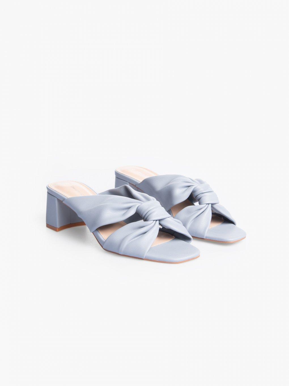Block heel slides
